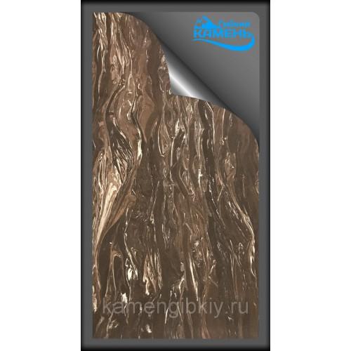 Гибкий камень КОФЕ-6 размером 280 х 140 см
