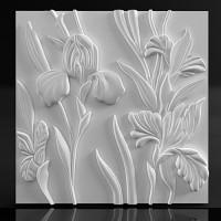 3d панель из гипса Azaleas