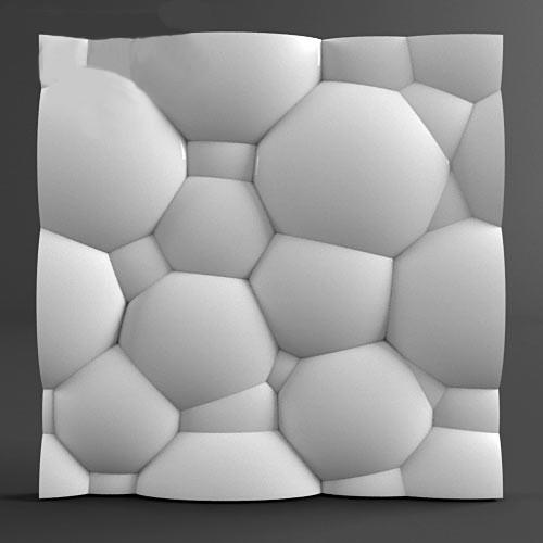3d панель из гипса Balls