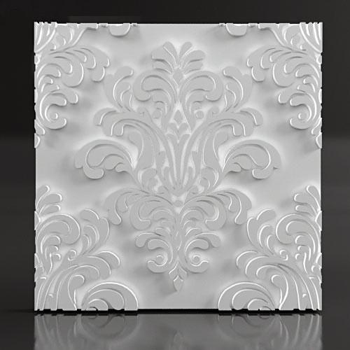 3d панель из гипса Baroque