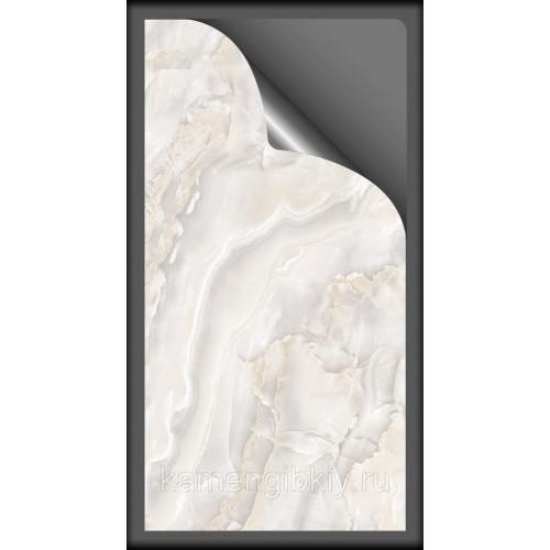Гибкий мрамор White Jade размером 280х140 см