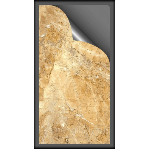 Гибкий мрамор Golden Jade размером 280х140 см