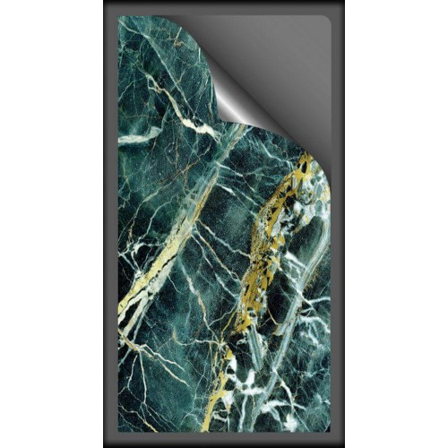 Гибкий мрамор МАЛАХИТ размером 280х140 см